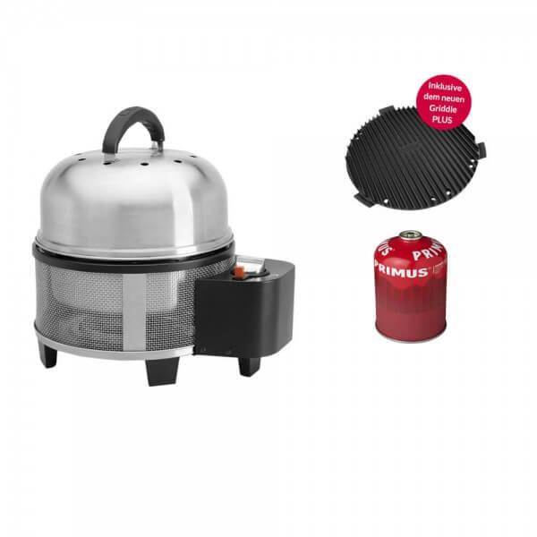 Cobb Premier Gas Grill Multifunktionsküche inkl. Cobb Griddle PLUS + Ventilgaskartusche 450g