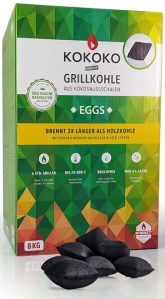 KOKOKO EGGS für Cobb Holzkohlegrill ~ 8kg