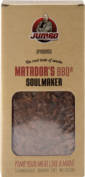 MATADORS BBQ® Soulmaker Räucherchips Smoking Chips 375g