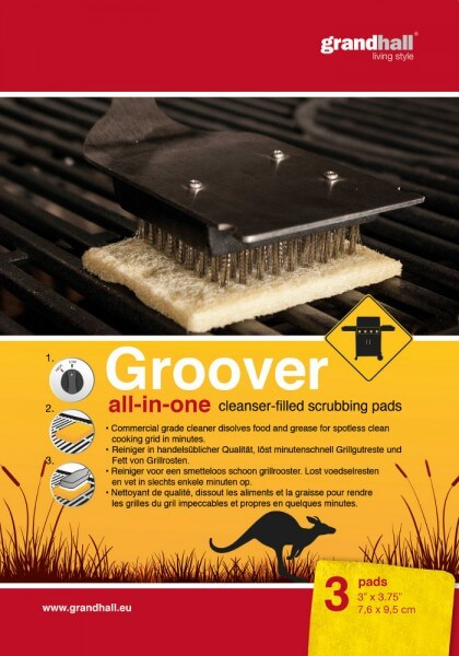 Groover Reinigungspads ~ all-in-one ~ 3 Pads
