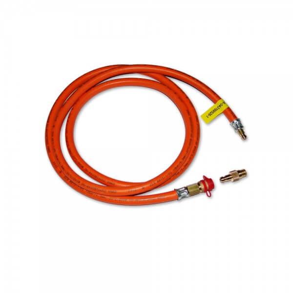 1,5m Gas Schlauch für Außensteckdose auf Cobb Gas Grill inkl. Schnell Adapter (CG3000)