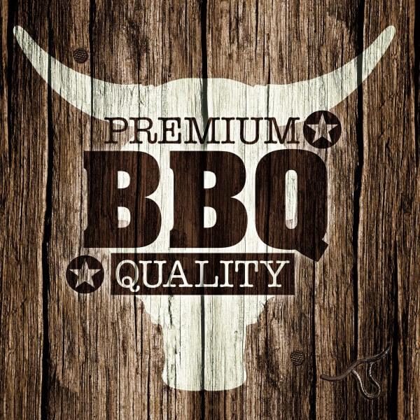 20x Grill Servietten ~ 3-lagig 1/4-Falz 33 cm x 33 cm ~ Premium BBQ ~