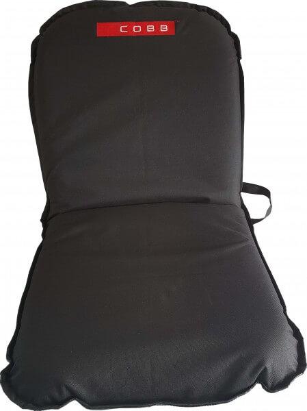 4x Cobb Klappsitz ~ Sitzkissen mit 6 Einstellungen ~ 43cm x 98cm x 6cm ~ Schwarz