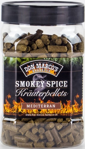 Smokey Spice Kräuterpellets ~ MEDITERRAN 450g ~