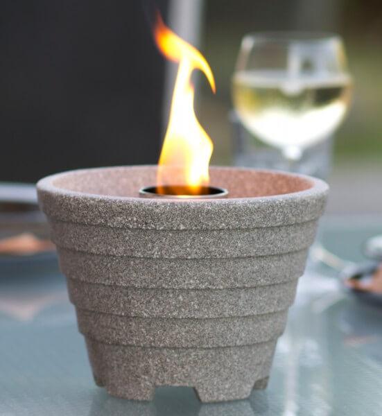 Schmelzfeuer Outdoor Granicium® - Die windsichere Gartenfackel zum Kerzen-Recyceln - SFG