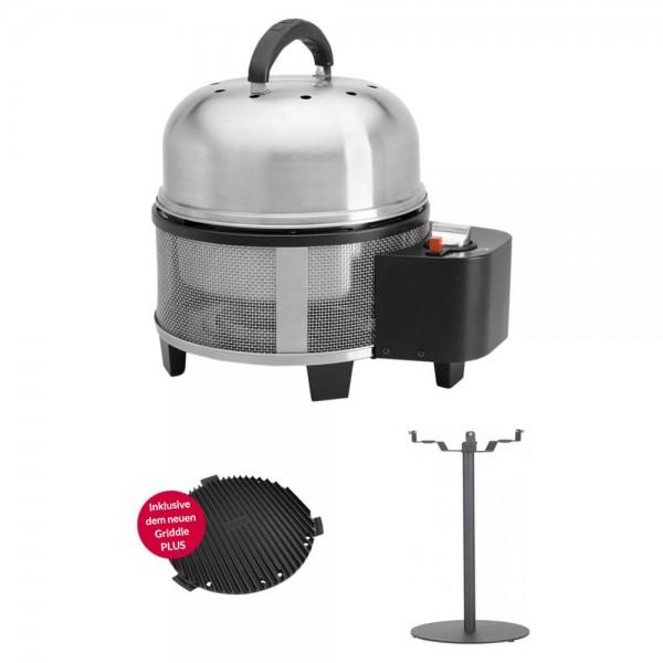 Cobb Premier Gas DELUXE Grill die neue Multifunktionsküche (CO700) + Stehtisch (CO60)