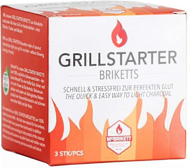 GRILLSTARTER ~ GRILLANZÜNDER 1x 3er Pack