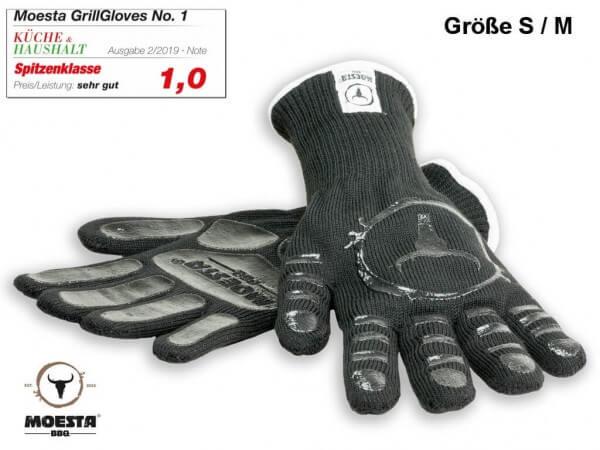 GrillGloves No. 1 - Die Grillhandschuhe der Profis - Größe S / M