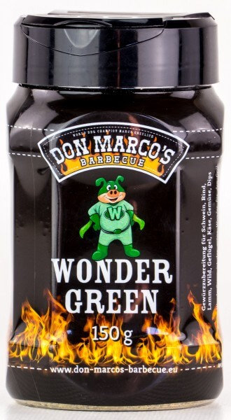 Grillgewürze Don Marcos Wonder Green Rub 130g