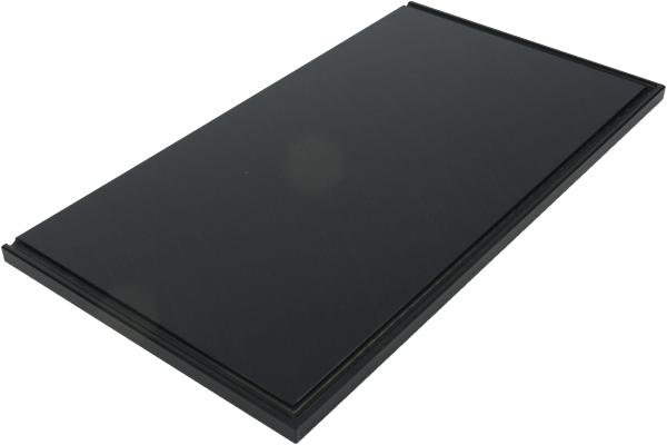 Cutcase 515 ~ PE Schneidbrett in Schwarz ~ CB-01.2