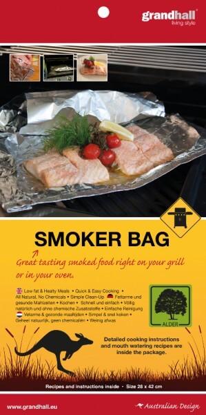 Räucherbeutel ~ Smoker Bag ~ Erle 28cm x 42cm