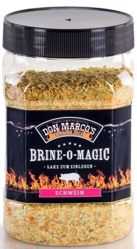Don Marcos Brine-O-Magic® Schwein ~ Lake zum Einlegen ~ 550g