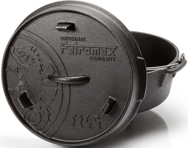 Petromax Feuertopf ft4,5 Dutch Oven für 2 bis 5 Personen