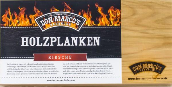 Don Marcos Holzplanke Kirsche 2 Stück im Set