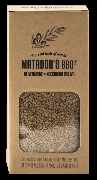 MATADORS BBQ® Olivenkerne Räucherchips Smoking Chips 800g