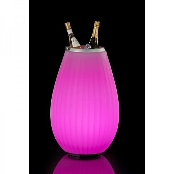 The Joouly 65 - Bluetooth Lautsprecher mit Licht in 9 wechselbaren Farben - Getränkekühler