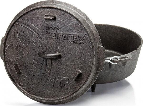 Petromax Feuertopf ft6 Dutch Oven für 4 bis 8 Personen