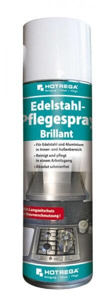 HOTREGA Edelstahl - Pflegespray - Brillant 300ml